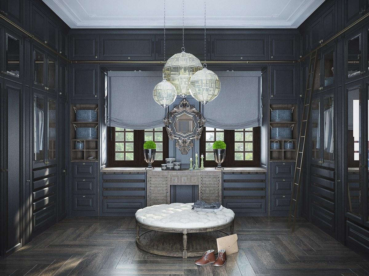 Deco Store Neoclassical And Art Deco Features In Two Luxurious Interiors
