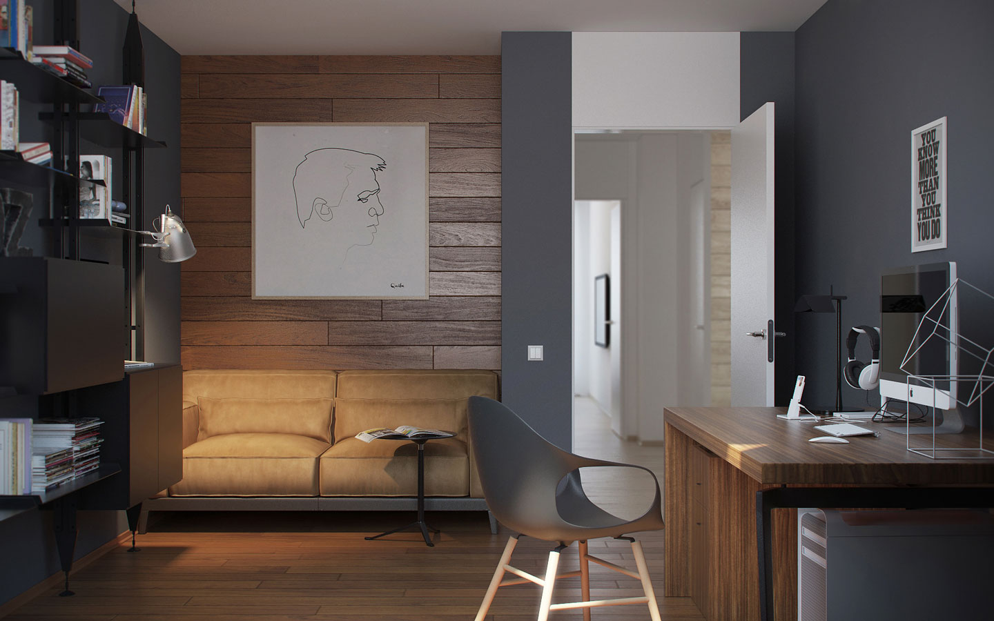 One Bedroom Apartment With Office 5 Ideas For A One Bedroom Apartment With Study Includes