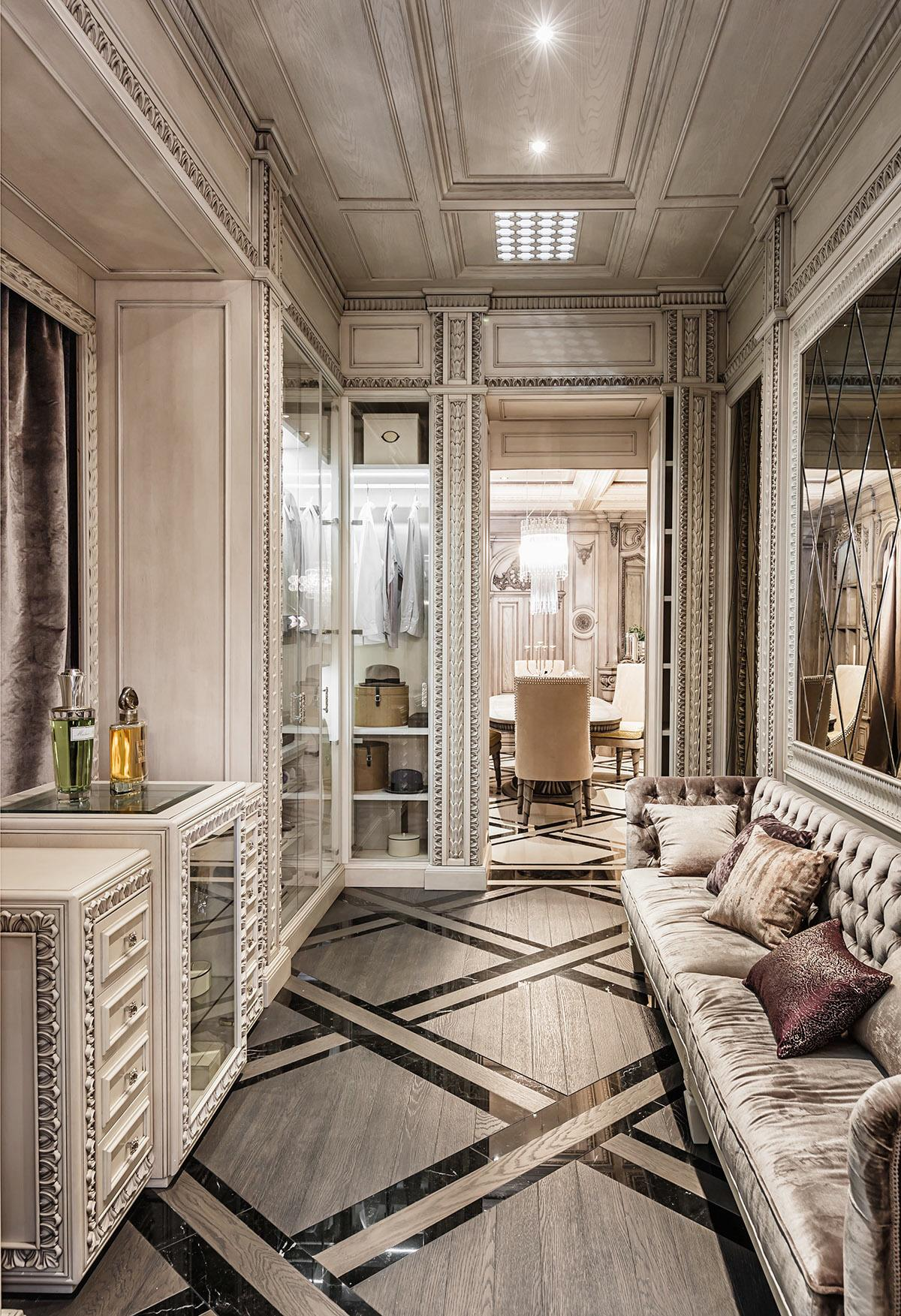 Art Deco Homes Neoclassical And Art Deco Features In Two Luxurious Interiors