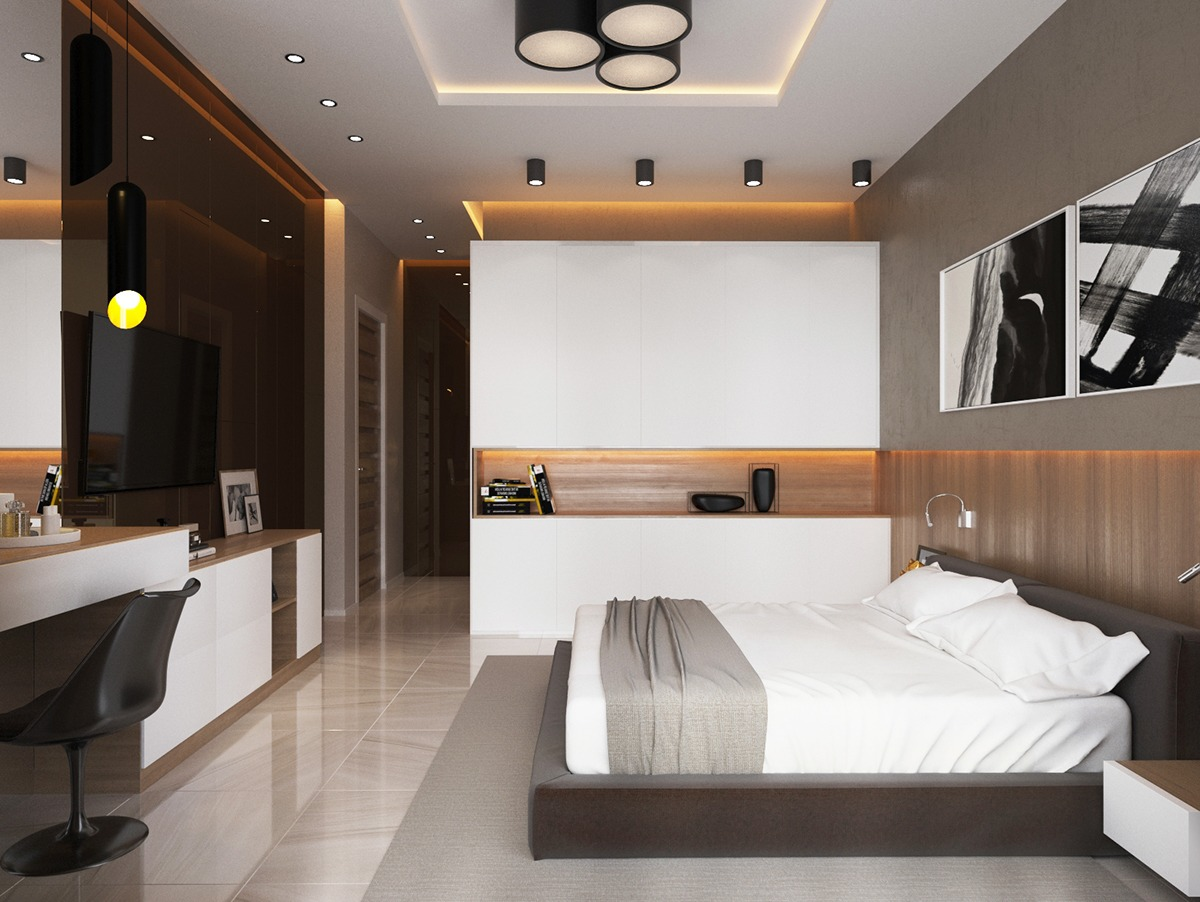 Meuble Durif 4 Luxury Bedrooms With Unique Wall Details