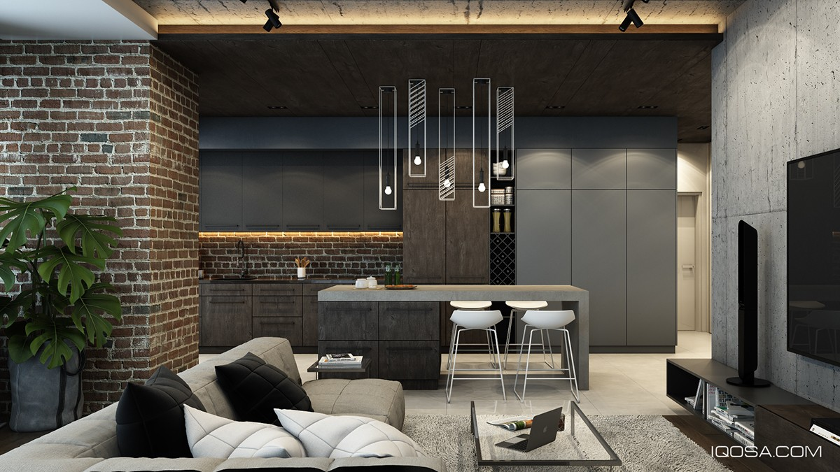 Brick Wall Design Design A Chic Modern Space Around A Brick Accent Wall