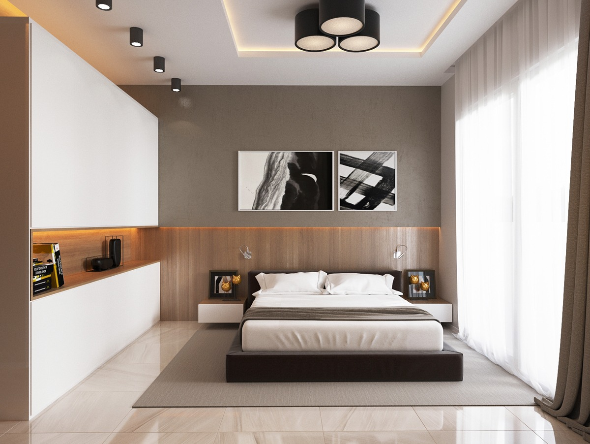 Unique Bedroom Accessories 4 Luxury Bedrooms With Unique Wall Details