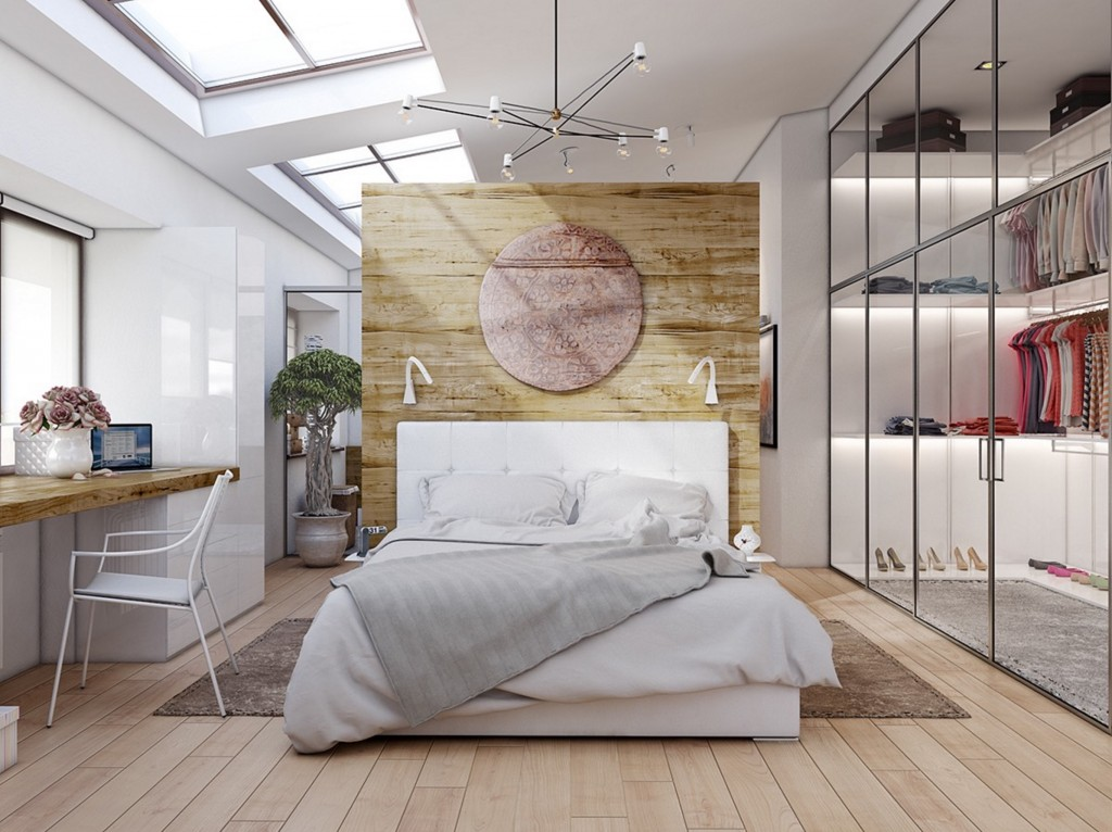 Schlafzimmer Kommode Modern 20 Beautiful Examples Of Bedrooms With Attached Wardrobes