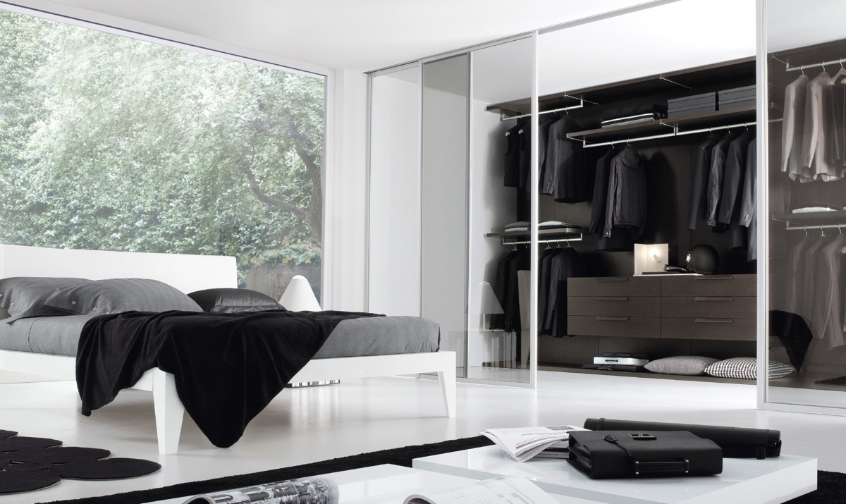 Bedroom Clothing Storage Ideas 20 Beautiful Examples Of Bedrooms With Attached Wardrobes