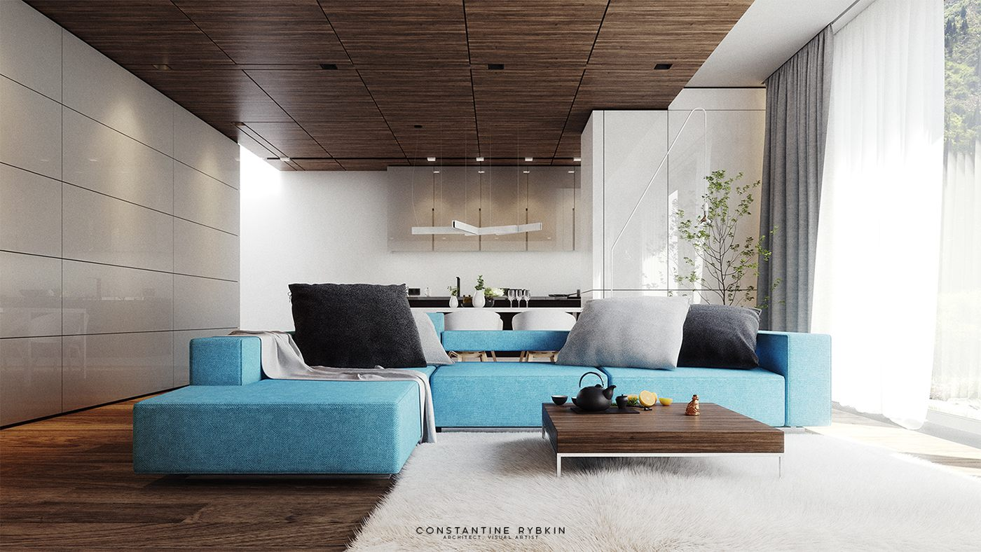 Trends Sofa 5 Living Rooms That Demonstrate Stylish Modern Design Trends