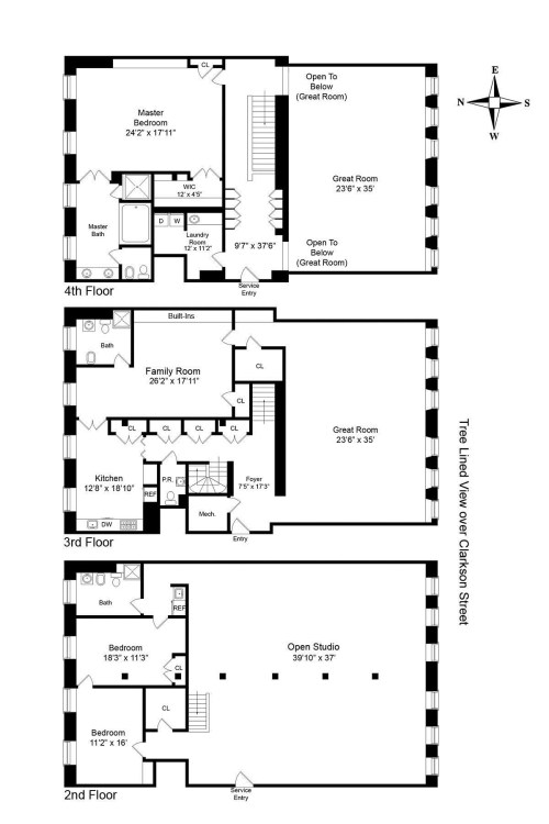 Medium Of Floor Plan Of An Apartment
