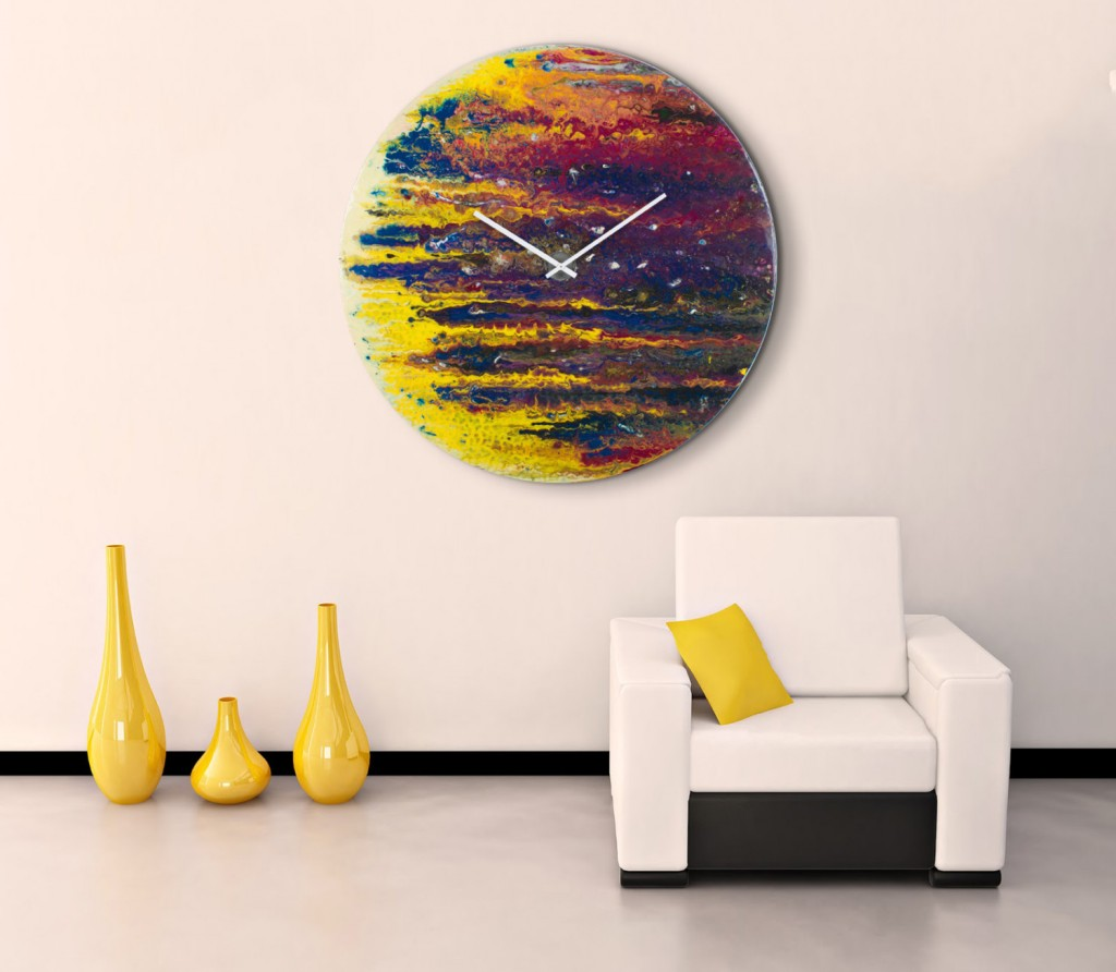 Wall Art Clocks 30 Large Wall Clocks That Don 39t Compromise On Style