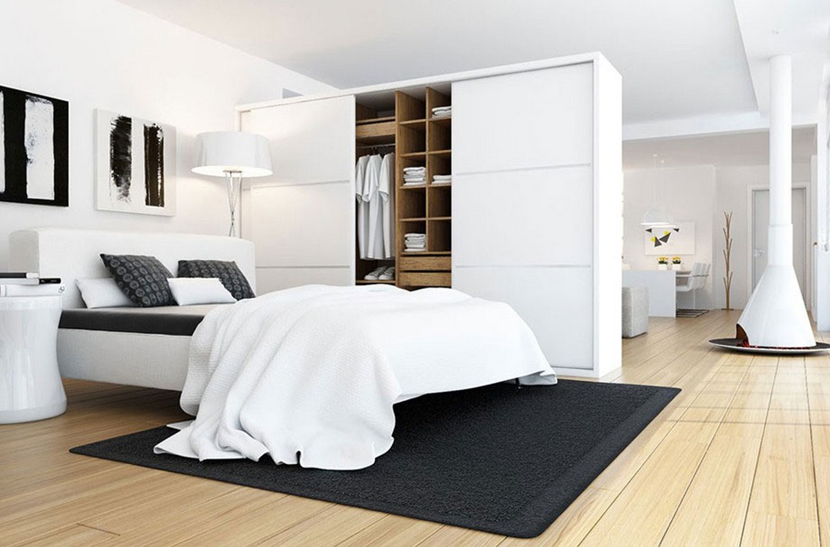 White Bedroom Wardrobes 20 Beautiful Examples Of Bedrooms With Attached Wardrobes