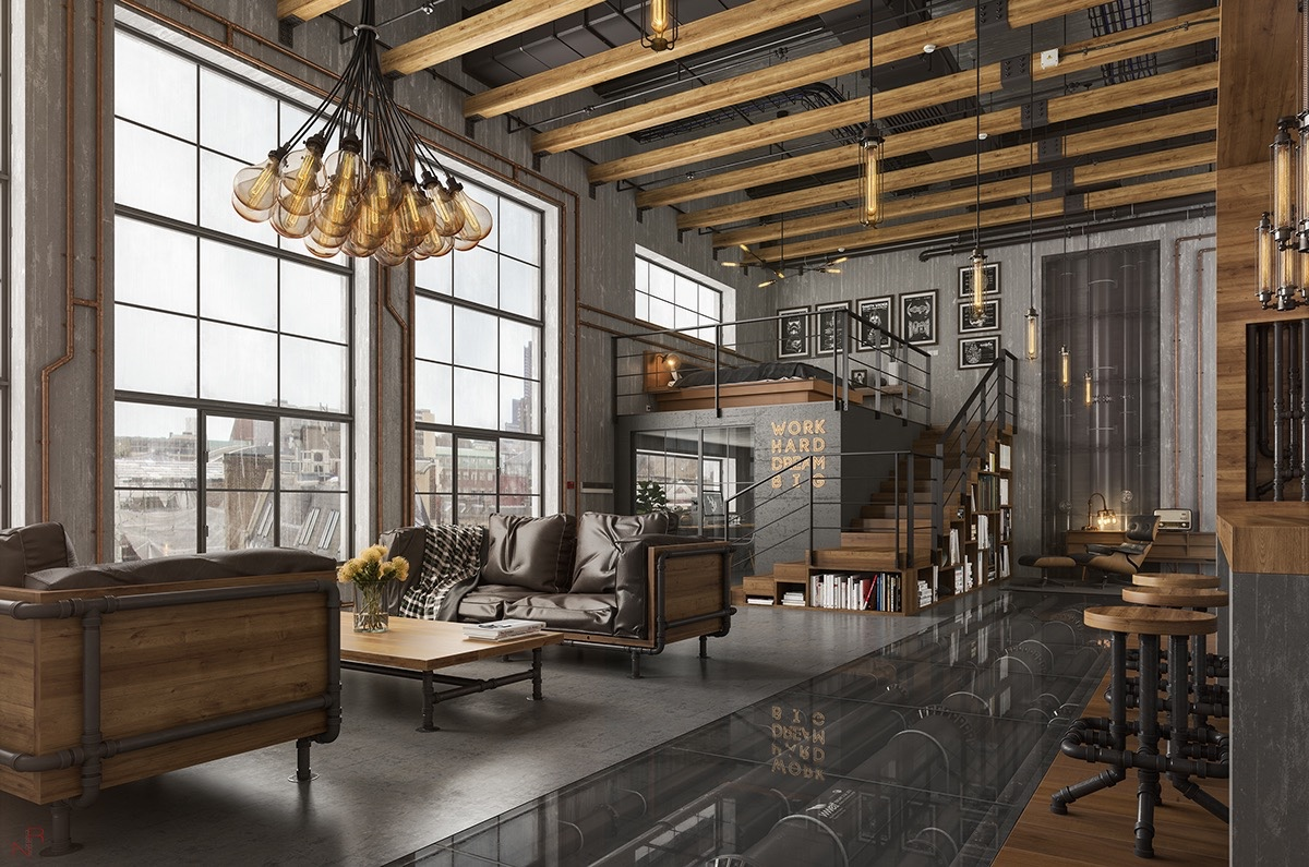 Industrial Design Wohnzimmer 40 Incredible Lofts That Push Boundaries