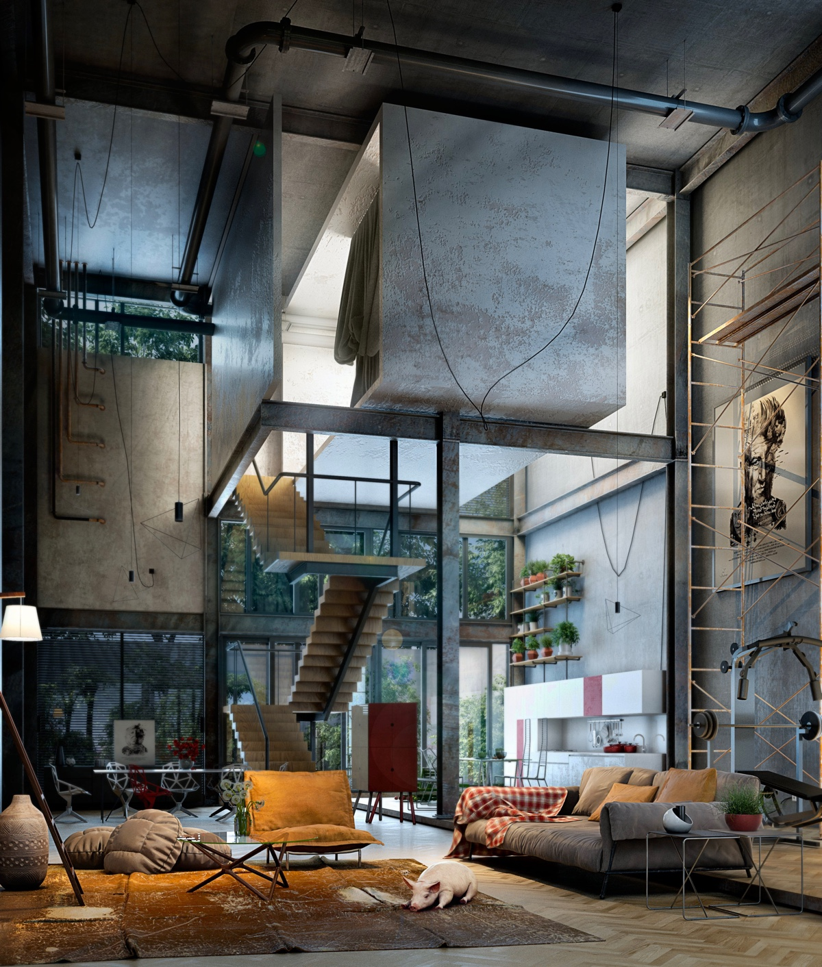 Big Loft 40 Incredible Lofts That Push Boundaries