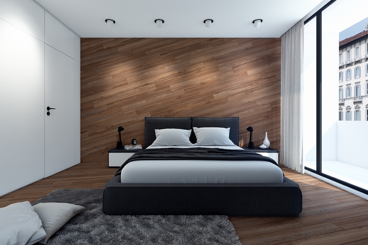 Bedroom Paneling 11 Ways To Make A Statement With Wood Walls In The Bedroom