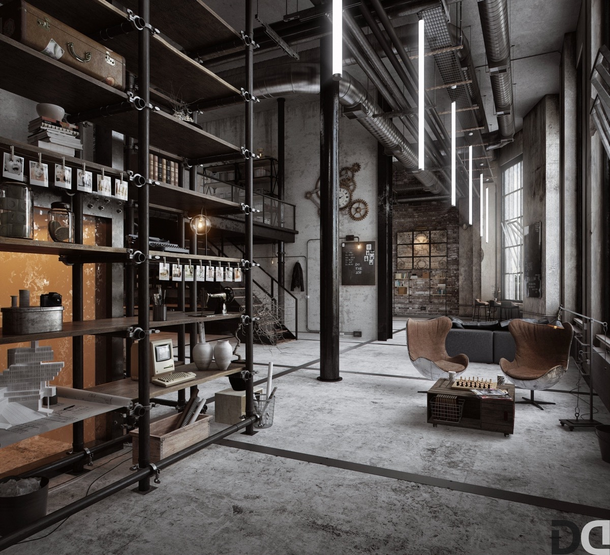 New York Industrial Works 40 Incredible Lofts That Push Boundaries