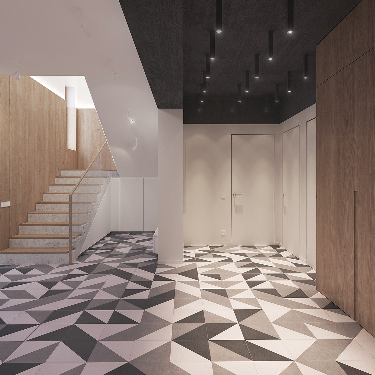 Scandinavian Floor Tiles A Sleek And Surprising Interior Inspired By Scandinavian