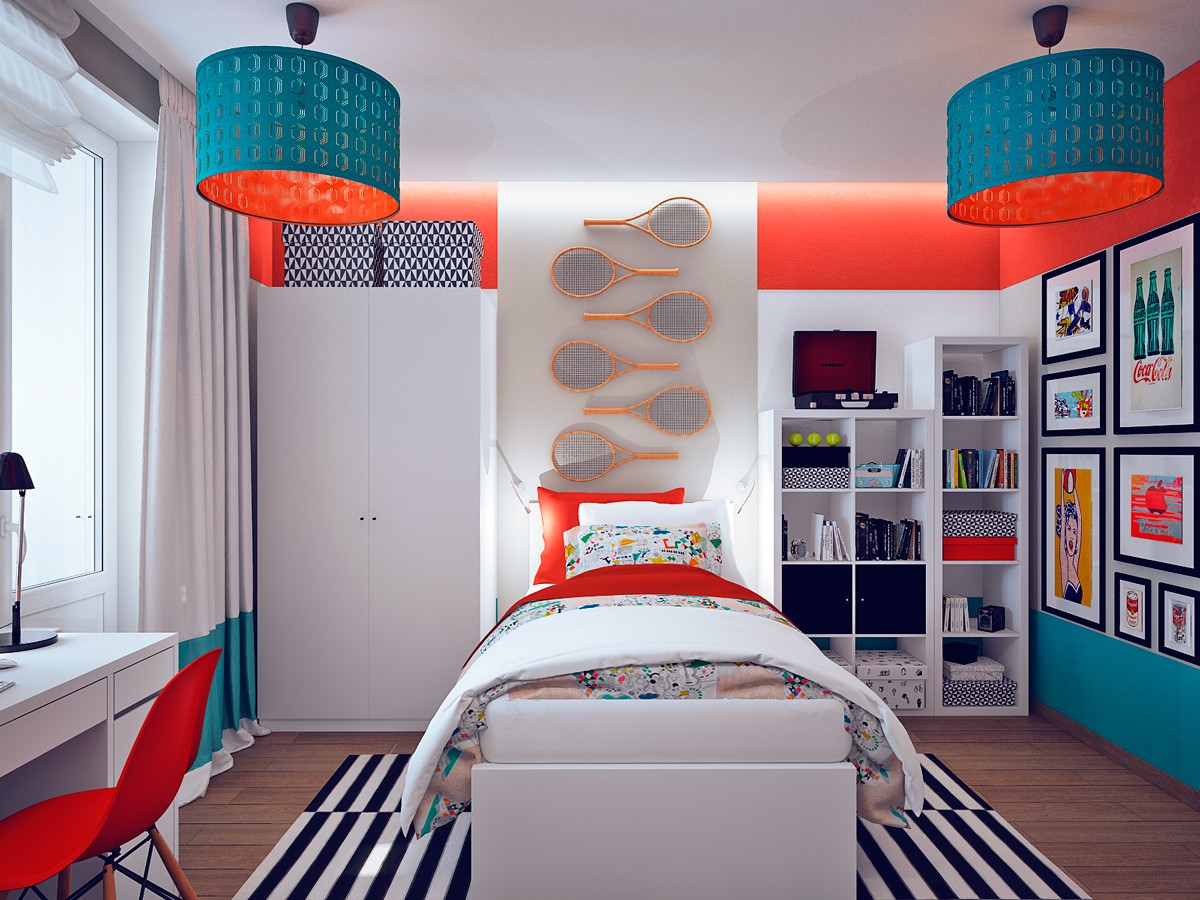 Art For Kids Bedroom This Gallery Like Home Reflects A Different Art Style In
