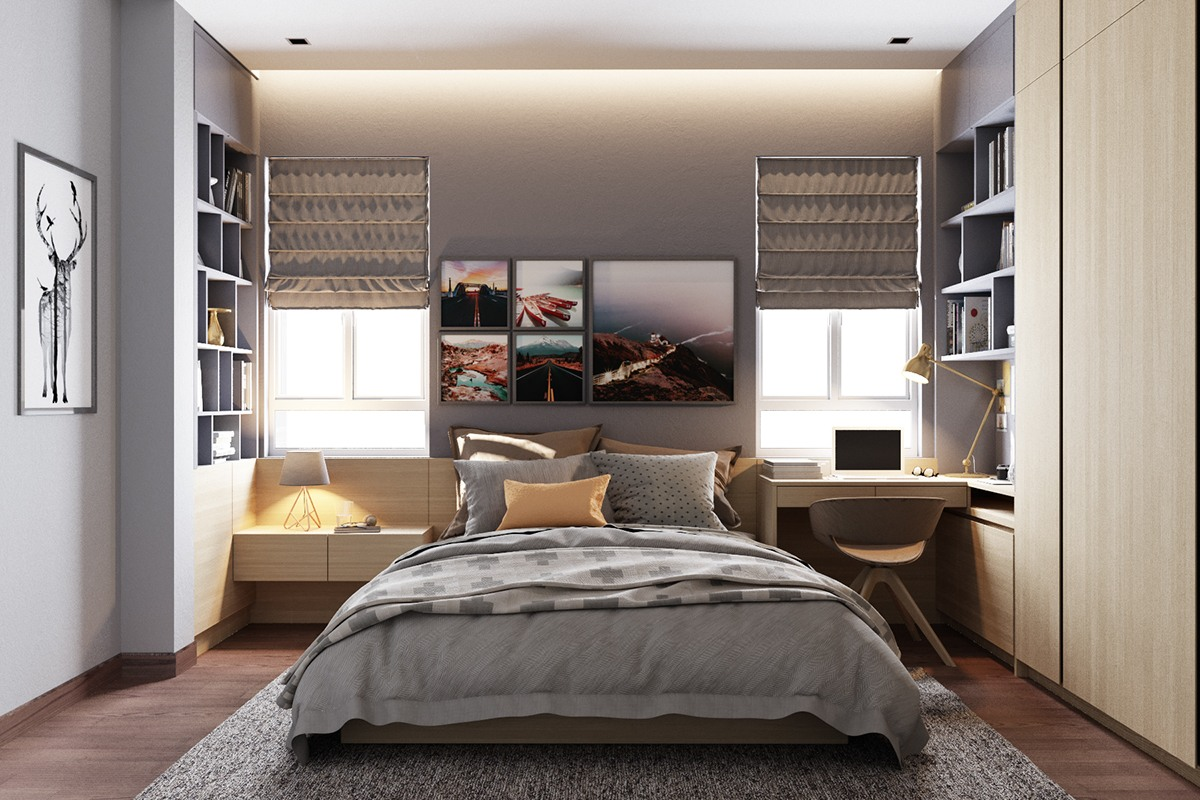 Bedroom Design Grey And Yellow Grey Bedrooms Ideas To Rock A Great Grey Theme