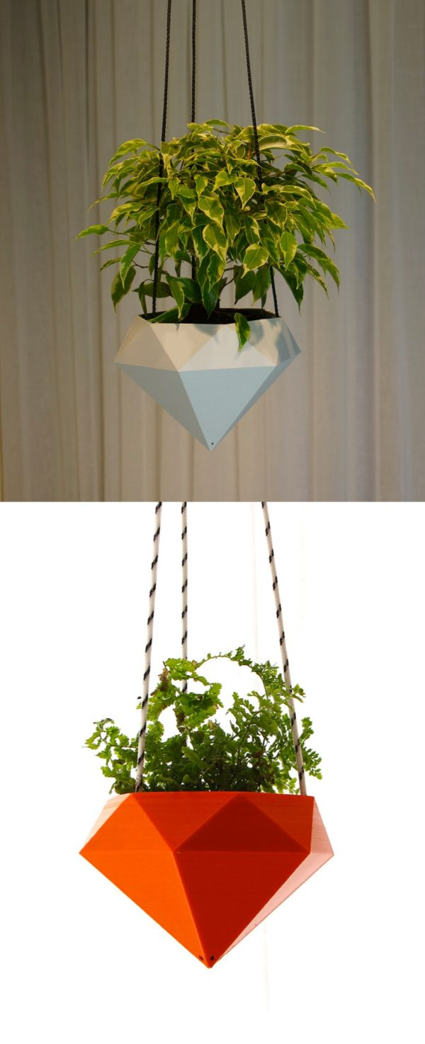 Cubicle Wall Planter 30 Unique Hanging Planters To Help You Go Green