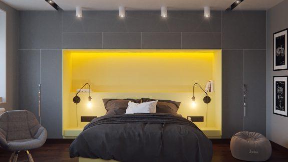 42 Gorgeous Grey Bedrooms - grey bedroom ideas