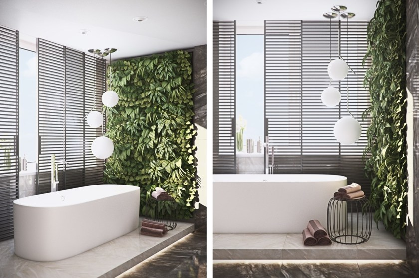 living-wall-bathroom-free-standing-porcelain-bath-calm-and-relaxing