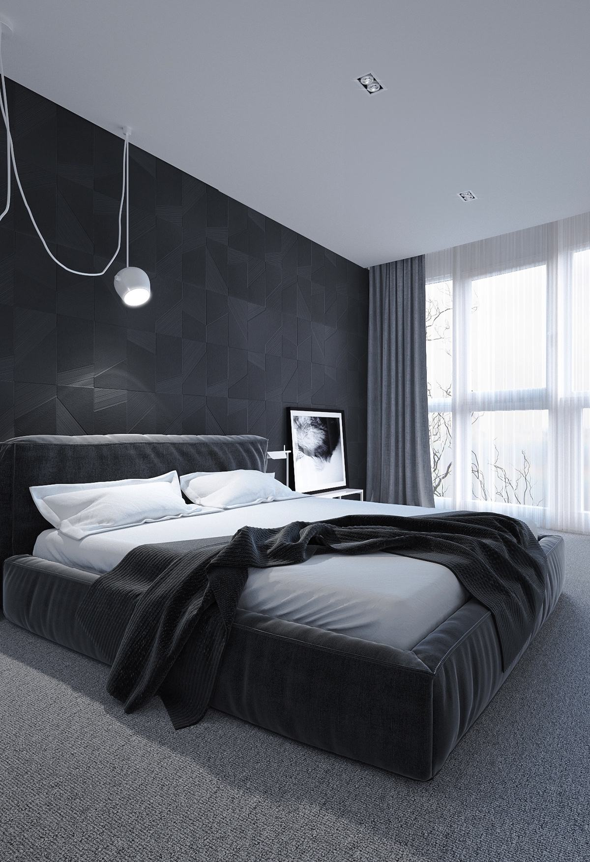 Black And White Bedroom Ideas For Small Rooms 6 Dark Bedrooms Designs To Inspire Sweet Dreams