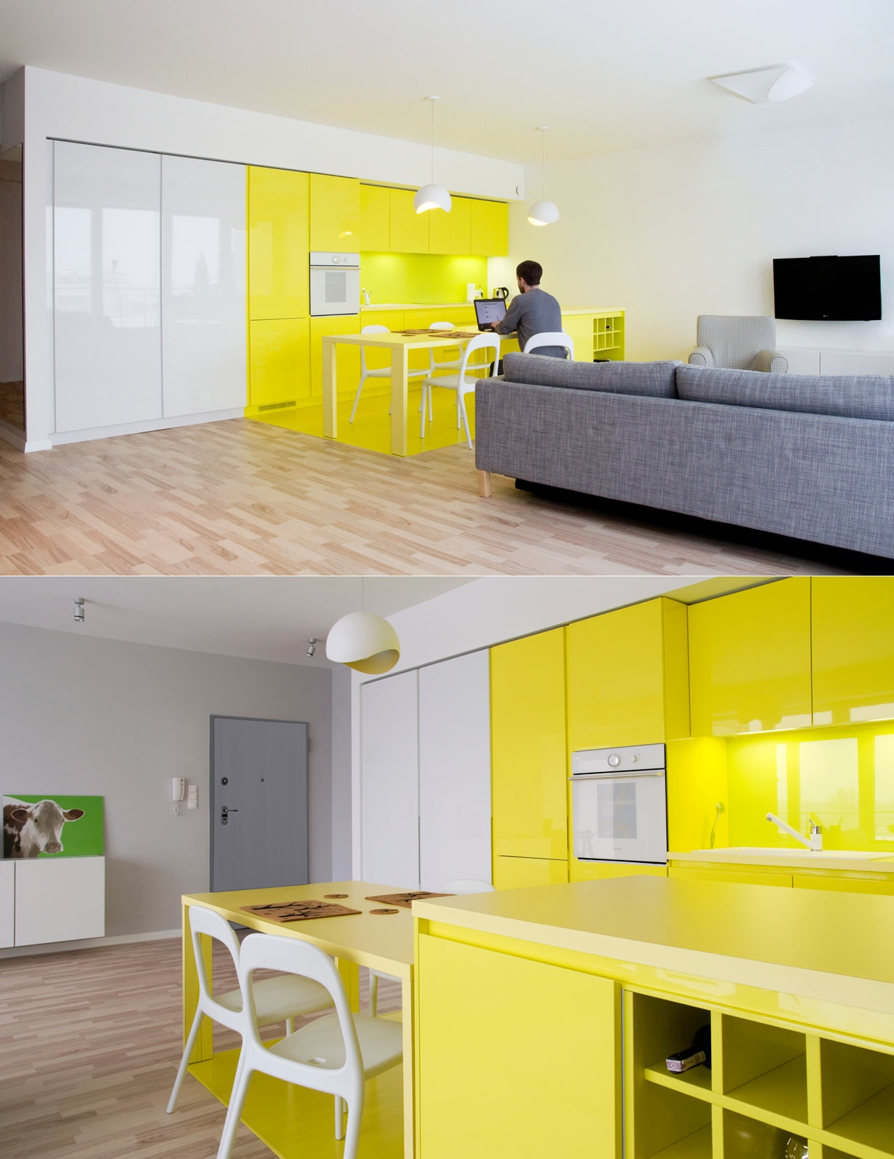 Kitchen Design Yellow Cabinets 22 Yellow Accent Kitchens That Really Shine