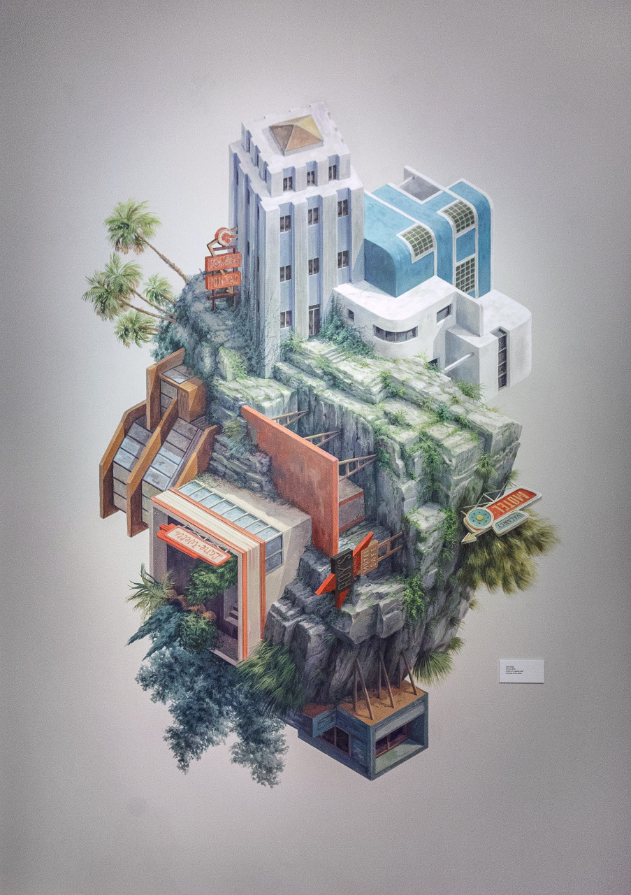 Cool 3d Wallpapers For Walls Surreal Architectural Illustrations By Cinta Vidal Agull 243