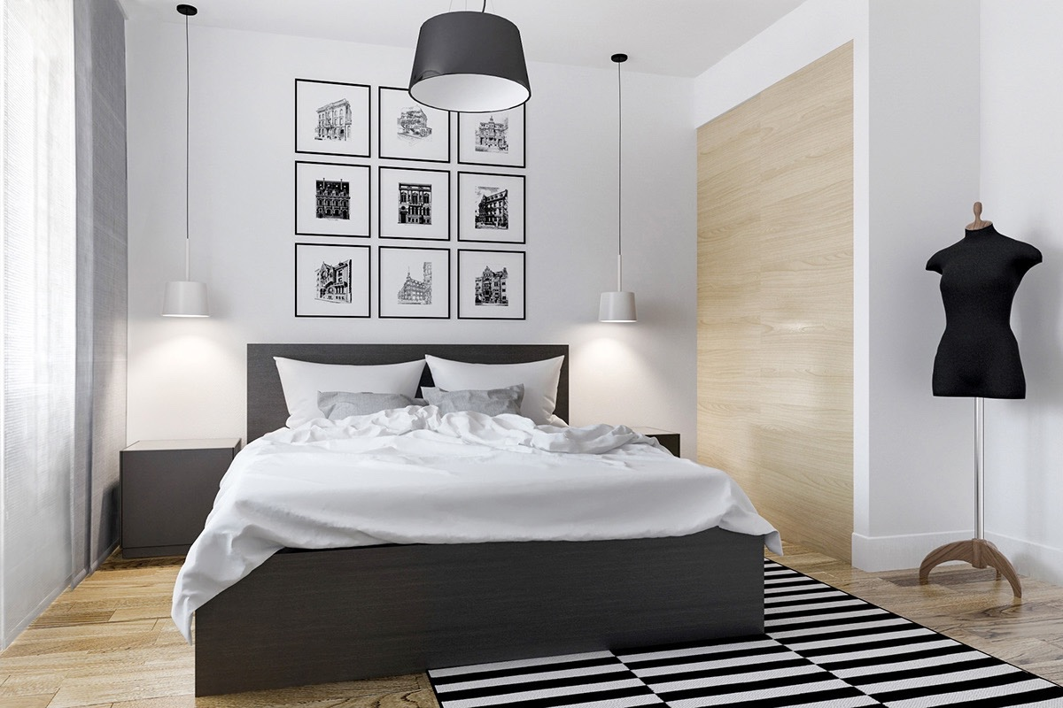 Black And White Bedroom Curtains Ideas 40 Beautiful Black And White Bedroom Designs