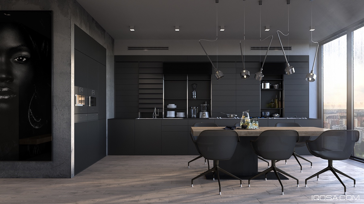 Anthrazit Küche Ikea Inspiring Examples Of Use Of Grey In Luxury Interior Design