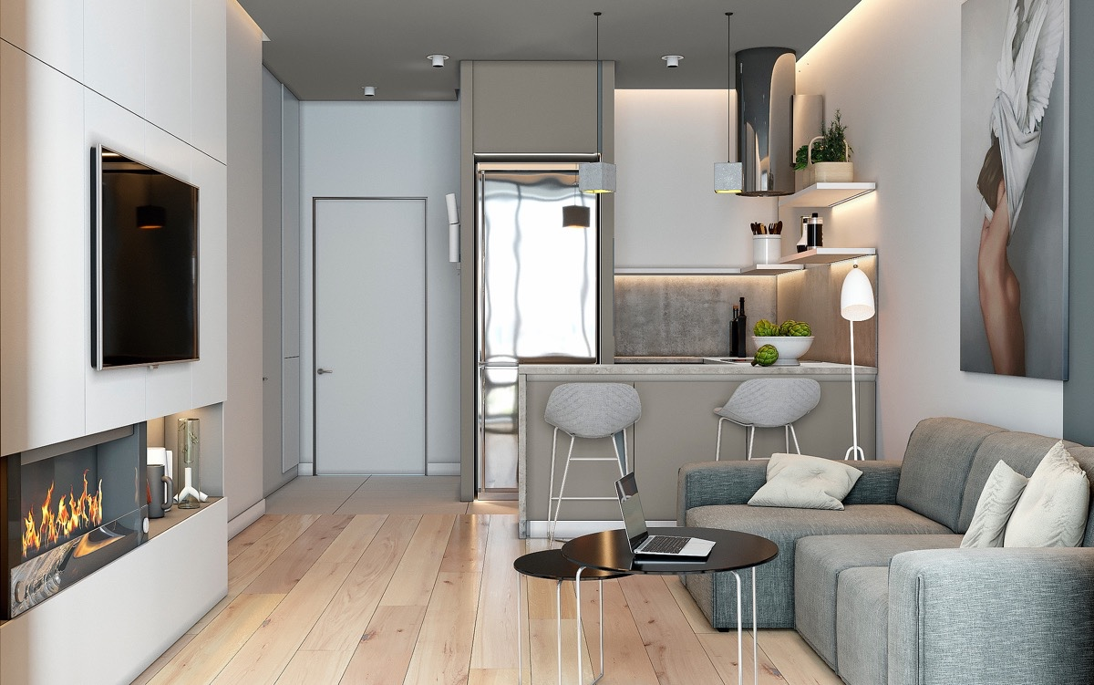 How To Separate A Room Without A Wall 5 Innovative Apartment Designs That Make Small Areas Sing