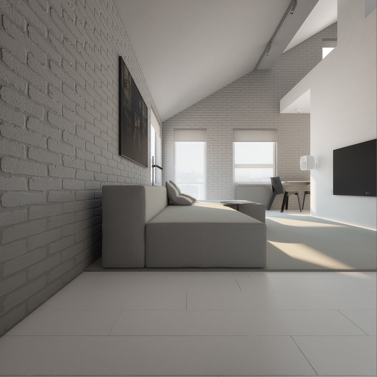 Minimalistisch Einrichten 3 Light White And Minimalist Homes Inspiring Clarity Of Mind