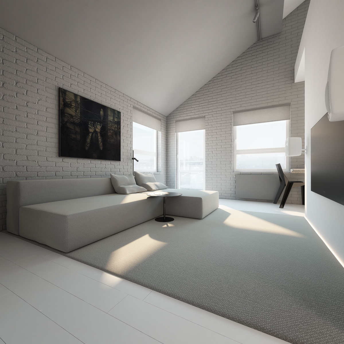 Minimalistisch Einrichten 3 Light White And Minimalist Homes Inspiring Clarity Of