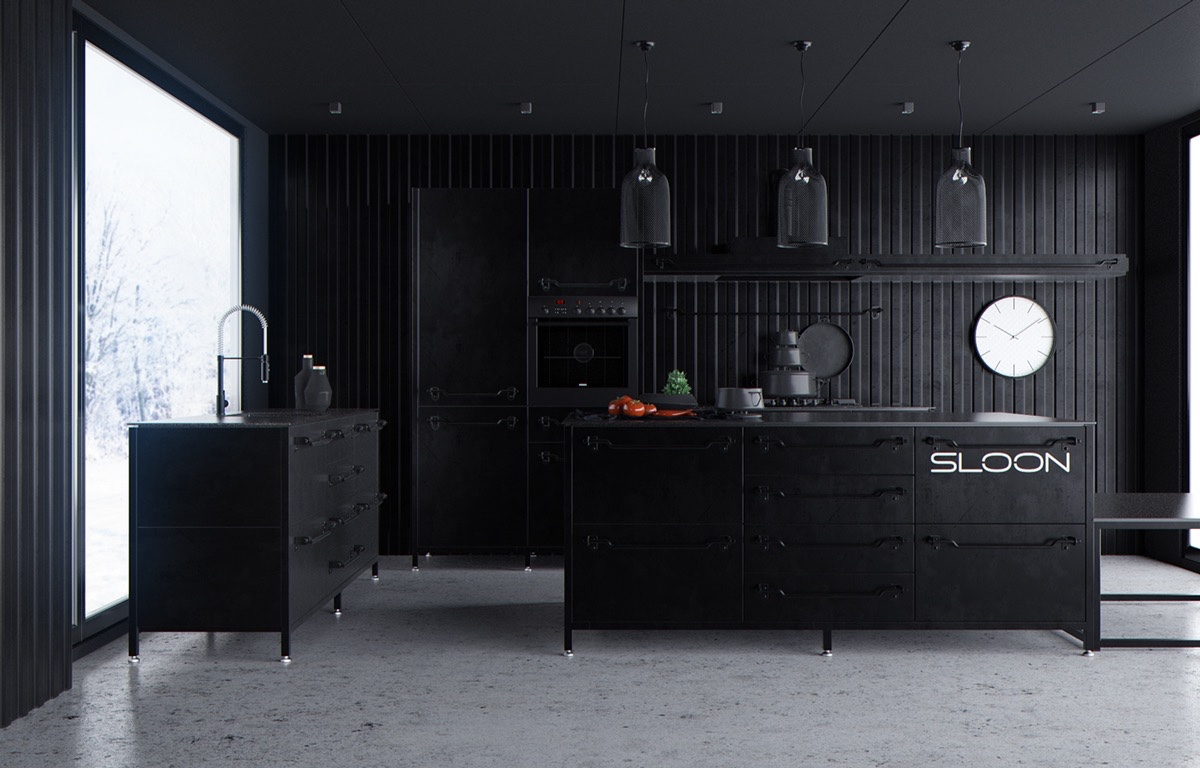 House Kitchen Interior Design Pictures 36 Stunning Black Kitchens That Tempt You To Go Dark For Your Next
