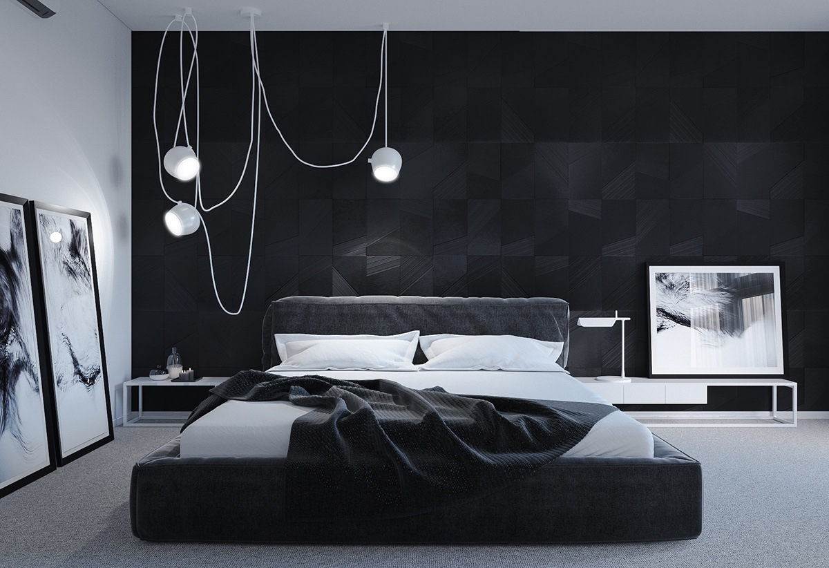 Black And White Bedroom Wall Decor 40 Beautiful Black And White Bedroom Designs