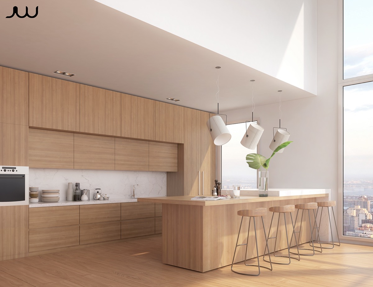 Kitchen Design Ideas Canada 50 Modern Kitchen Designs That Use Unconventional Geometry