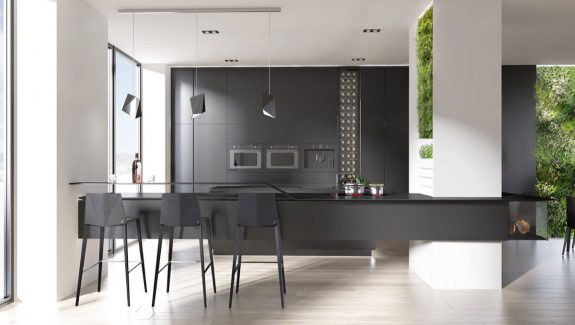 30 gorgeous grey and white kitchens that get their mix right photos of kitchen designs - Black And White Kitchen Pictures