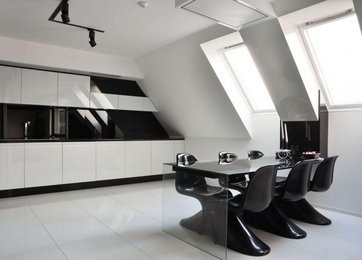 40 beautiful black white kitchen designs kitchen table designs