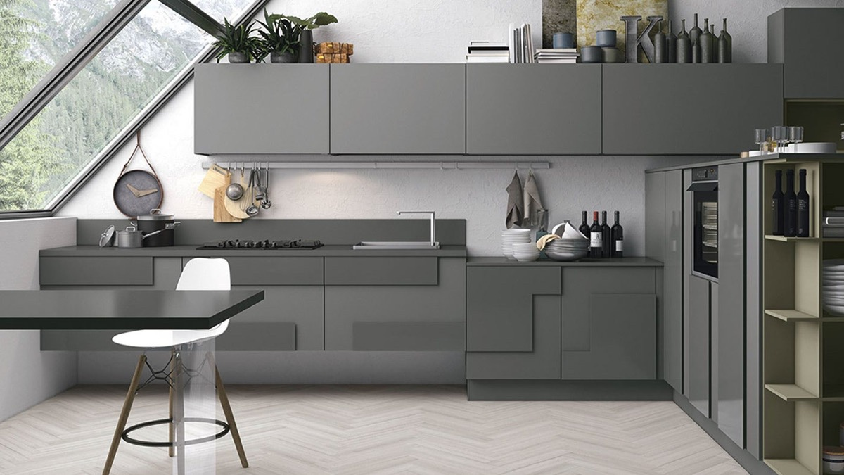 Grey Benchtop Kitchen 40 Gorgeous Grey Kitchens
