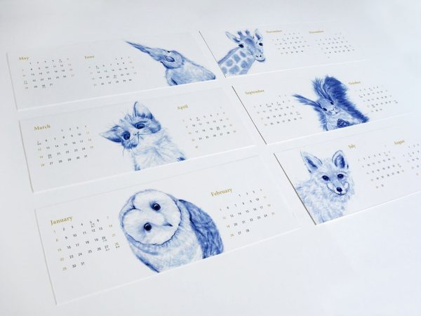 36 Unique Desk  Wall Calendars To Help You Get Ready For The New Year - calender s
