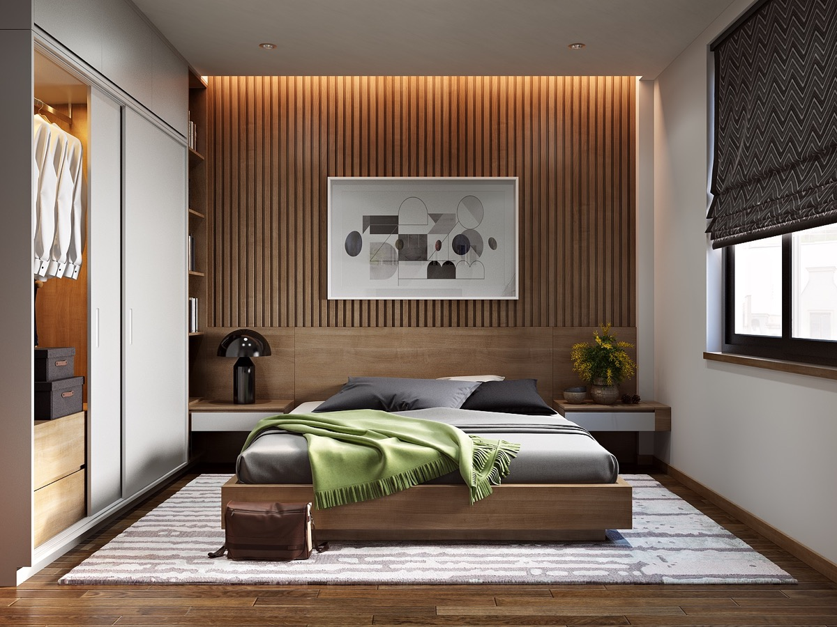 Modern Bedroom Walls 25 Beautiful Examples Of Bedroom Accent Walls That Use