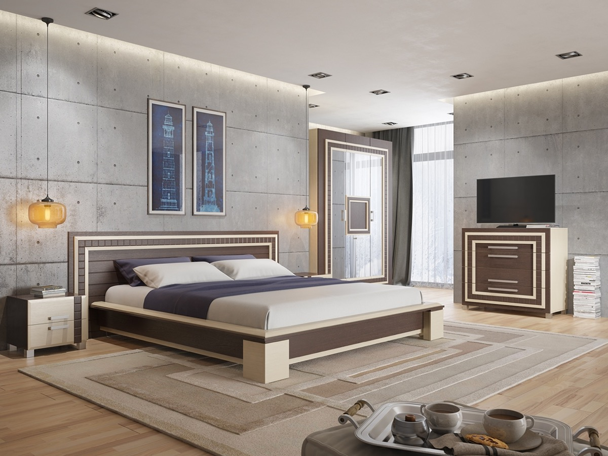 Wall Finishes Ideas Concrete Wall Designs 30 Striking Bedrooms That Use Concrete