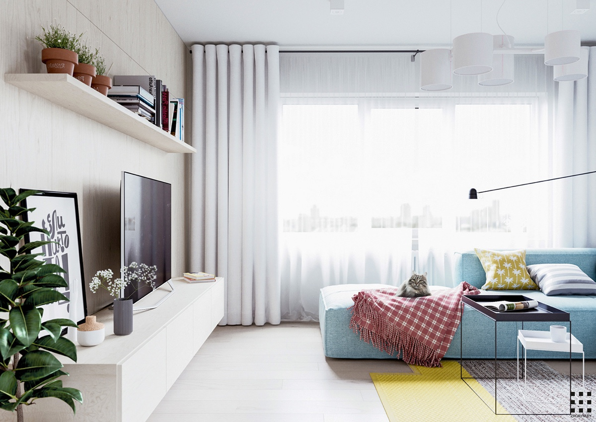 Scandanavian Design A Scandinavian Style Apartment Perfect For A Small Family