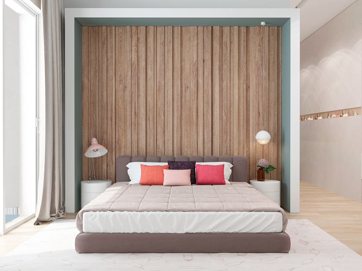 Bedroom Paneling Wooden Wall Designs 30 Striking Bedrooms That Use The