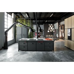 Voguish Industrial Style Kitchens That Will Make You Fall Love Home Styles Aspen Kitchen Island Home Style Kitchen Island kitchen Home Style Kitchen Island