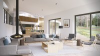 Open Plan Interior Design Inspiration