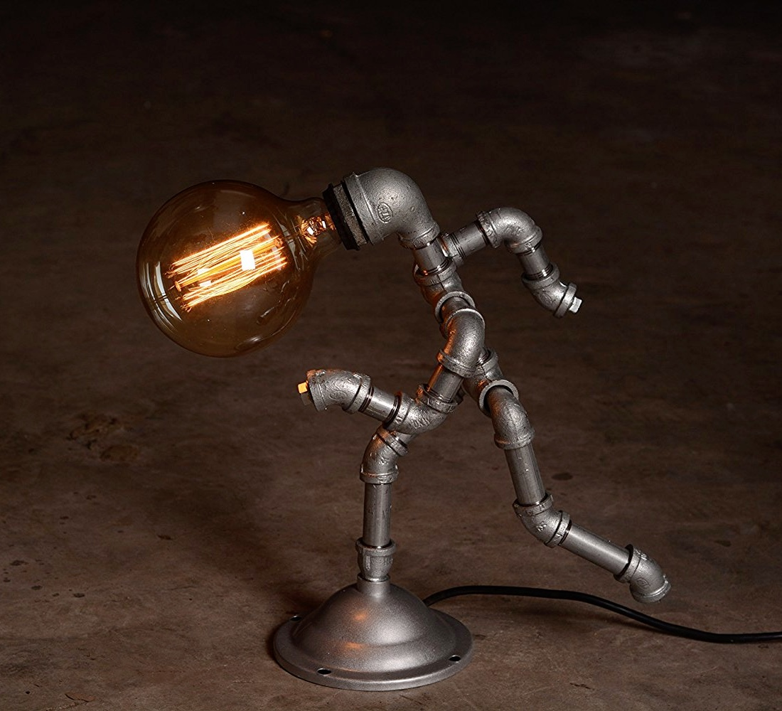 Iron Pipe Light Fixture 30 Industrial Style Lighting Fixtures To Help You Achieve