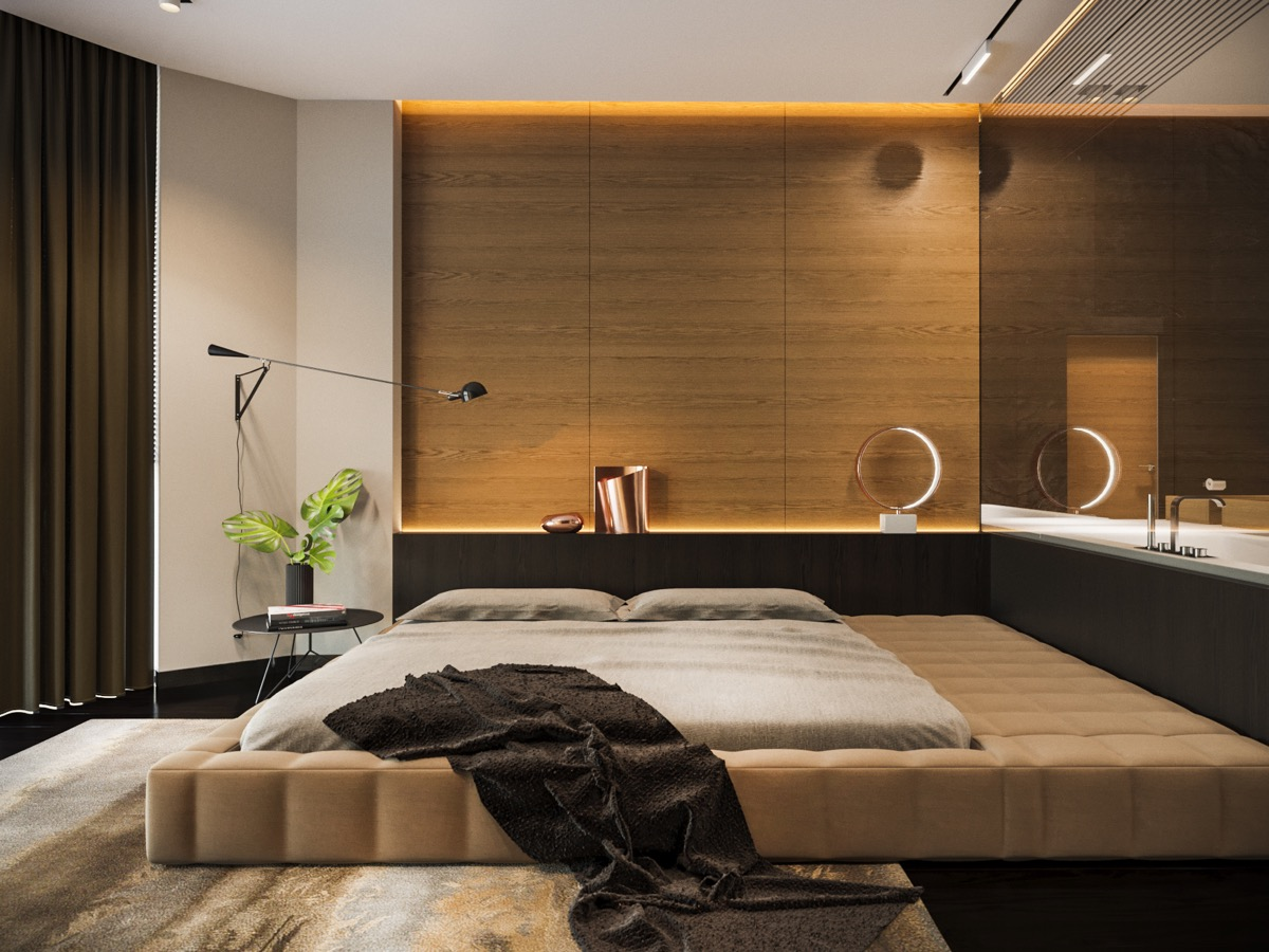 Modern Bedroom Walls 40 Beautiful Bedrooms That We Are In Awe Of