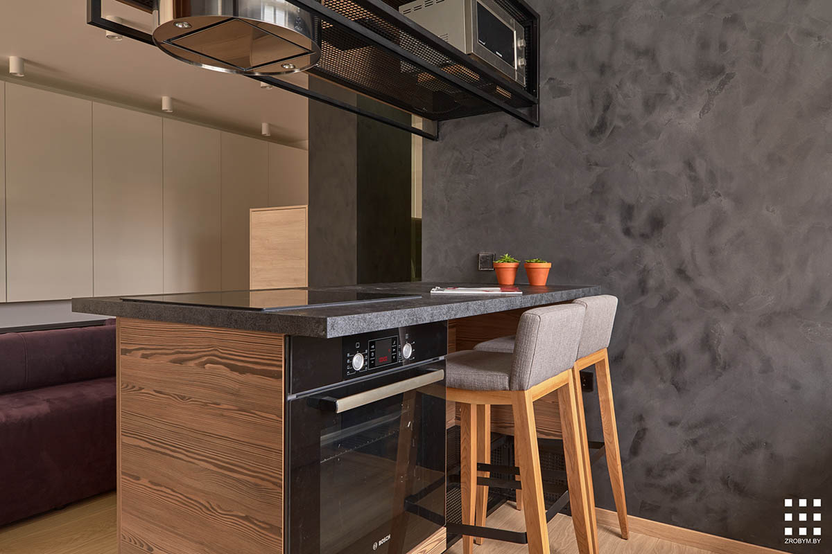 Studio Apartment Kitchen Island Studio Apartments In Three Modern Styles