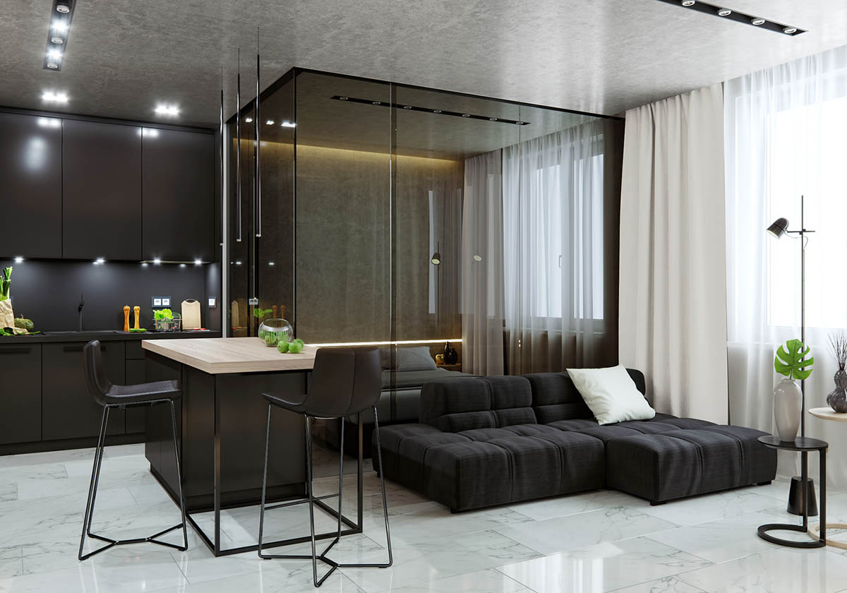 Apartment Decor Themes 5 Studio Apartments With Inspiring Modern Decor Themes