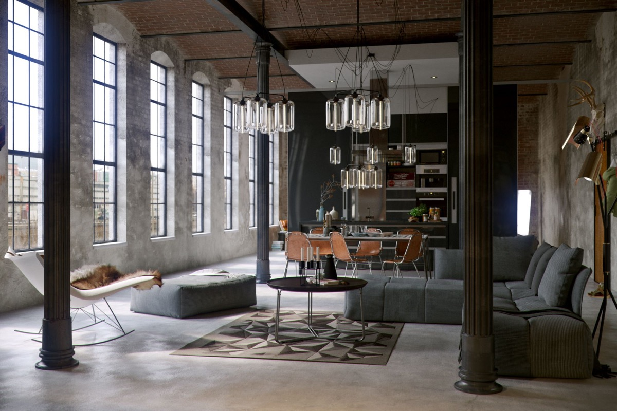 Styles For Living Room Industrial Style Living Room Design The Essential Guide