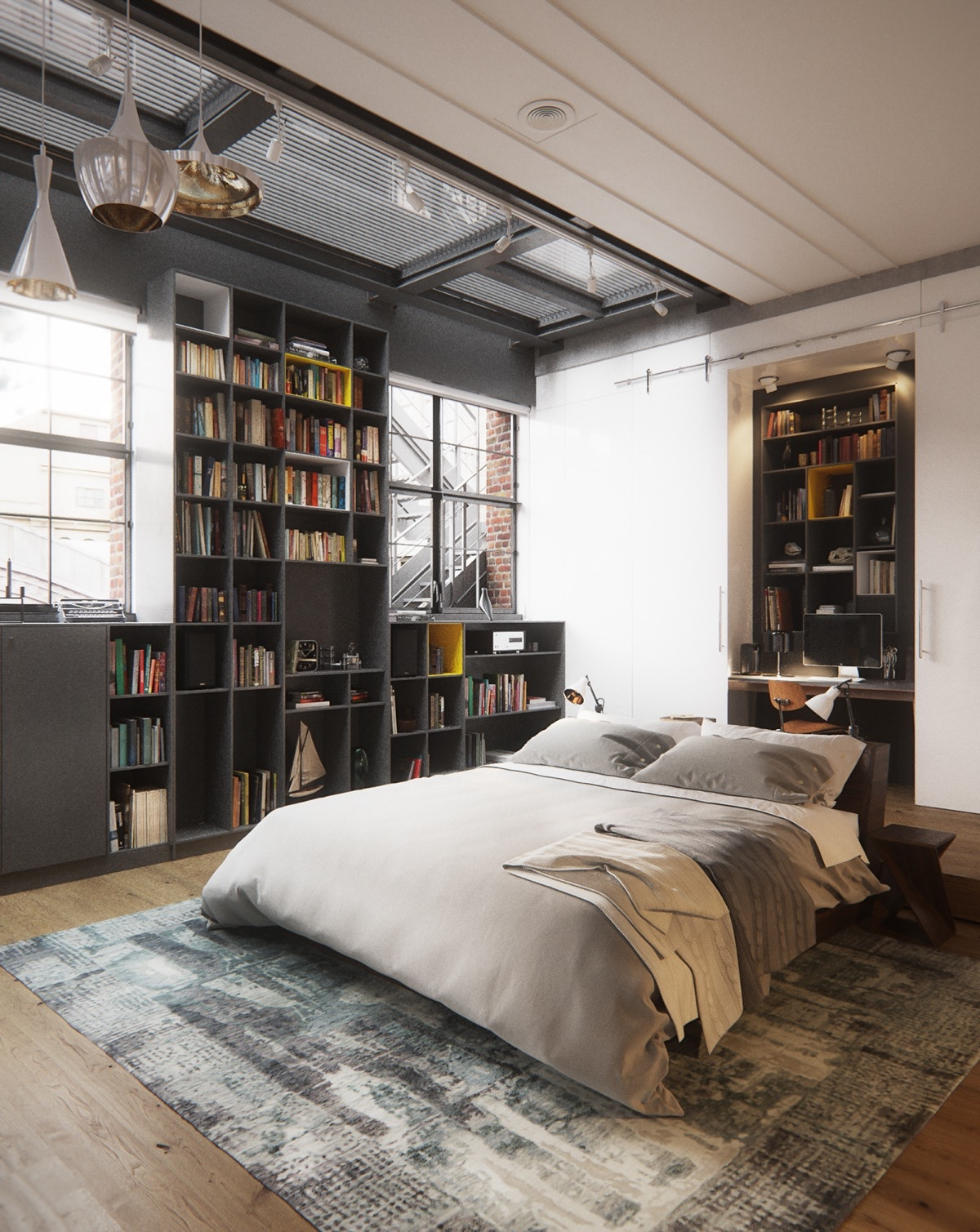 Industrial Style Industrial Style Bedroom Design The Essential Guide