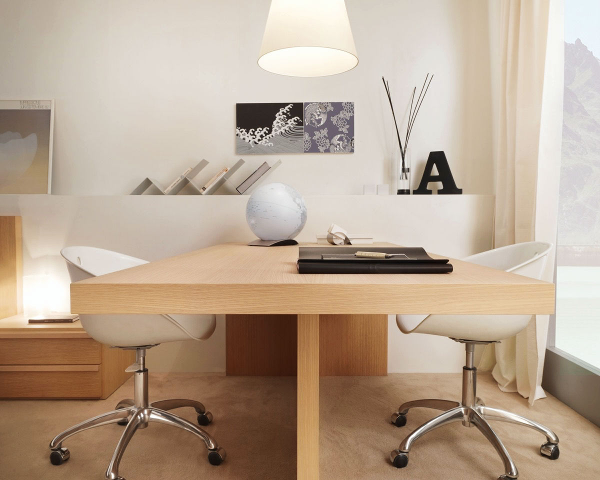Two Person Work Station 36 Inspirational Home Office Workspaces That Feature 2